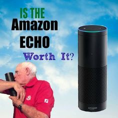 What is Amazon Echo? It's a cool electronic device that is especially helpful and fun for my legally blind husband. Our review of this product.