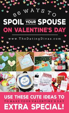 86 ways to spoil your spouse on valentines day from valentine ideas for husbandfun