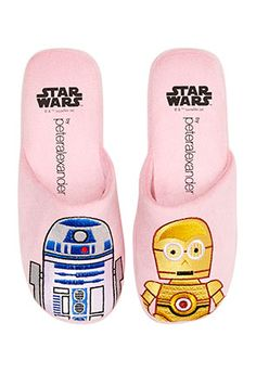 Image for Women's Star Wars Scuffs from Peter Alexander