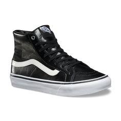 Vans Womens Mesh SK8-Hi Slim Cutout shoes