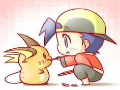 drawing on your raichu, don't do it if you don't own that raichu or it doesn't like you.