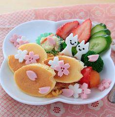 Sakura pancake