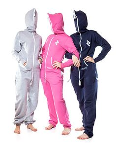 Stylish adult onesies that are perfect for a chilly night on the couch, getting comfortable after a long day at work, or recovering from a massive night on the town. Wrap yourself up in a one piece zippd jumpsuit.