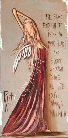 from an angelAdvice from an angel Tole Painting, Painting & Drawing, I Believe In Angels, Angel Pictures, Angels Among Us, Guardian Angels, Angel Art, Medium Art, Mixed Media Art