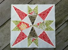 Almost a Star Quilt Block