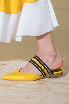 Roksanda Ilincic Spring 17 | Prepare to Take Some Style Risks After Seeing the Genius Shoes at London Fashion Week | POPSUGAR Fashion Photo 6