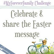 I'm posting tomorrow's challenge today, so you can get a head start: Here's a great FHE idea for your Easter celebrations tomorrow. #MyForeverFamily #Hallelujah