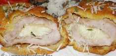 My Recipes, Dinner Recipes, Hungarian Recipes, Empanadas, Camembert Cheese, Mashed Potatoes, Curry, Pork, Food And Drink