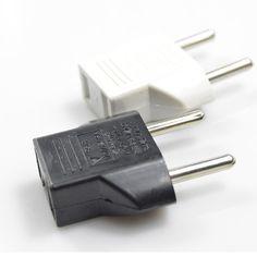 Màu đen/trắng MỸ để AC Power EU Cắm Travel Chuyển Đổi Adapter Hộ Gia Đình Phích Cắm adaptor cắm