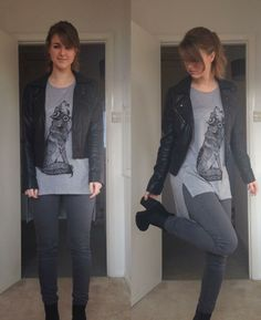 abbzzw | personal style and lifestyle blog: outfit: i love my wolf (vest)