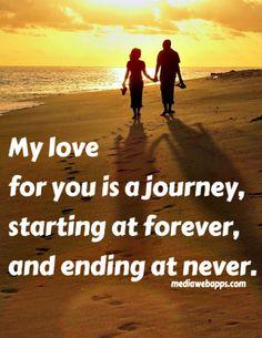 Love is long, sweet journey!!