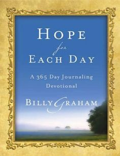 e-Devotional Sale: Hope for Each Day - 365 day devotional {by Billy Graham} ~ $1.99! {read it on your Kindle, iPhone, iPad, Computer or Droid!} #ebooks #thefrugalgirls