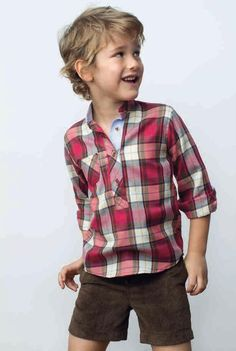 paranenesynenas: Pilar Batanero colección Otoño Invierno 2013 - 2014 Dress Up Outfits, Dope Outfits, Kids Outfits Girls, Girl Outfits, Unisex Clothes, Burberry Kids, Little Boy And Girl, Boys Shirts, School Uniform Fashion