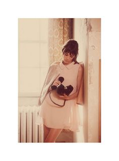 {style inspiration | ad campaign : alexa chung for FRAY I.D} by {this is glamorous}, via Flickr