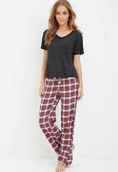 2b08f2548ced The best lightweight flannel pj pants. Pijamas Women