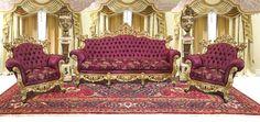 Conjunto De Sofá Estilo Clássico Luis Xv Imperial 2 Poltrona - R$ 18.000,00 em Mercado Livre