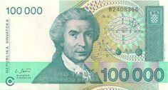 Motivseite: Geldschein-Europa-Mitteleuropa-Kroatien-Dinara-100000-1993