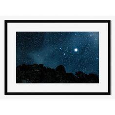 """Offset for West Elm Print, Joshua Tree Night Sky by Julian Walter, Mat, 2""""mat, 38""""w x 27""""h, $299"""