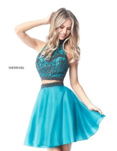 bc463aa9375 Sherri Hill Style 50524 Cute Dresses For Party