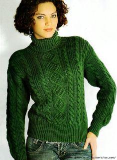 Классический свитер с аранами.. Обсуждение на LiveInternet - Российский Сервис Онлайн-Дневников