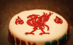Liverpool themed fondant cake for hubby's Themed Birthday Cakes, Fondant, Desserts, Liverpool, 30th, Food, Tailgate Desserts, Deserts, Essen