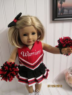 Oh Mickey Cheerleading Uniform for DOLLY PDF Sewing Pattern Sized for 15 and 18 inch dolls | Pinterest | Cheerleading uniforms American girls and Dolls  sc 1 st  Pinterest & Oh Mickey Cheerleading Uniform for DOLLY PDF Sewing Pattern Sized ...