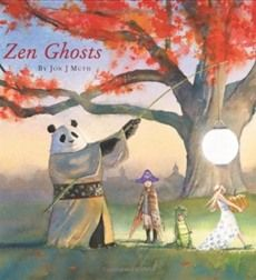love this author- Zen Ghost by John J. Muth  The trees are ablaze in fiery reds. Excited children don colorful costumes. And there's mystery and fun around every corner!