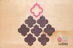 Moroccan pattern cutter