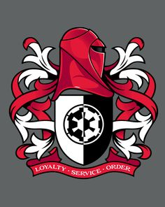 Hmmm... debating this one. If the motto was in latin or something it would be cooler, but I do love the English design of it.