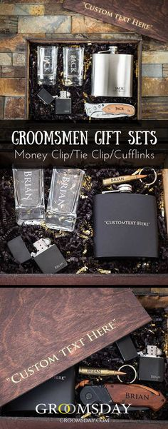 Select Gifts God Father Wedding Title Tie Clip Bar Pink Rose Crystal in Pouch