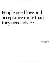 #showlove #acceptance