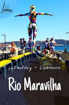 Rio Maravilha, restaurant-bar-lounge à Lx Factory - Lisbohème Rio, Bar Restaurant, Bar Lounge, City Break, Christ, Danishes, Best Coffee, Lisbon Portugal, Top Restaurants