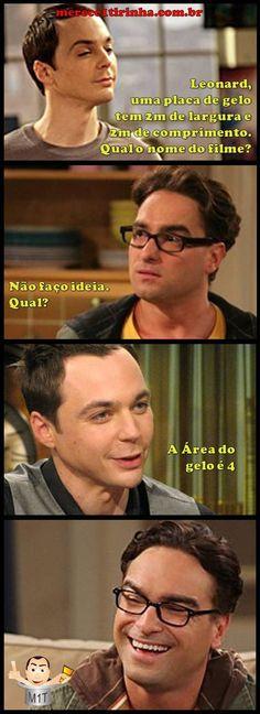 Nome do Filme com Sheldon e Leonard. Merece 1 Tirinha!