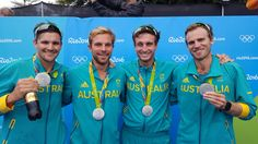 "AUS Olympic Team on Twitter: ""ROWING: A terrific race from Australia's men's four who won a silver medal. Congratulations! #OneTeam"