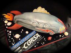 Zathura tin rocket toy...