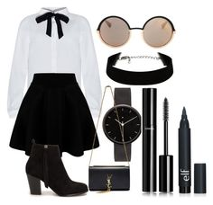 CeO by akaelif on Polyvore featuring polyvore fashion style Nly Shoes Yves Saint Laurent I Love Ugly Marc by Marc Jacobs Chanel women's clothing women's fashion women female woman misses juniors