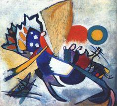 Wassily Kandinsky (1866 - 1944) | Abstract Art | Improvisation 209 -  1917