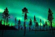Aurora Borealis Over Sweden - Continued!