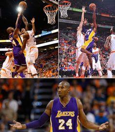 Kobe 31 vs the Suns