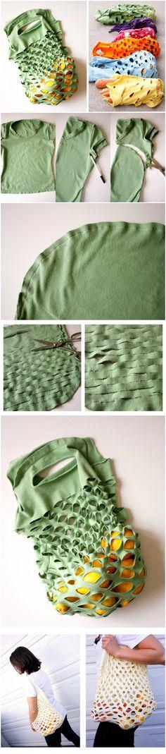 Easy Knit Produce Bag