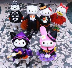 Sanrio Puroland's ready to welcome everyone for Halloween! ^__^