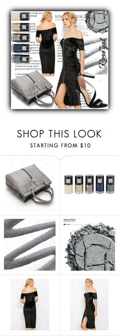 """""""rosegal"""" by fatimka-becirovic ❤ liked on Polyvore featuring Saks Fifth Avenue, Urban Decay and Spring"""