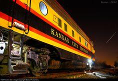 RailPictures.Net Photo: KCS 1 Kansas City Southern Railway EMD FP9 at Drexel, Missouri by Zach Pumphery