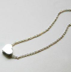 Mini Heart Necklace $9