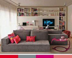 Combinações de cores para a casa