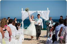 That's called happiness! Congratulations to our beautiful bride and groom!  #cabowedding #wedding #cabo #mexico
