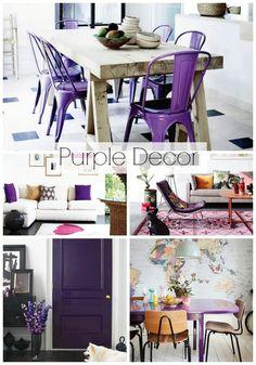 Purple Decor roundup