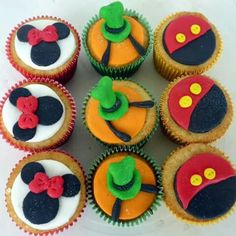 Cupcakes Disney