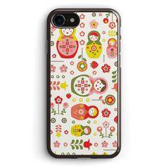 Doll Matryoshka Pattern Apple iPhone 7 Case Cover ISVG989