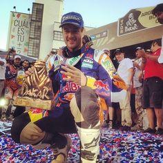 1 + 1 + 1 + 1 = 4 = Marc Coma's Dakar titles!